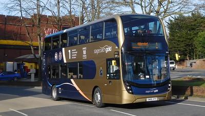 Stagecoach Hants & Surrey 10763 - SN66VYH - Farnborough (Kingsmead)