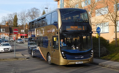 Stagecoach Hants & Surrey 10773 - SN66VYU - Farnborough (Main railway station)