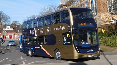 Stagecoach Hants & Surrey 10771 - SN66VYS - Farnborough (Main railway station)