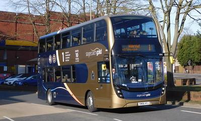 Stagecoach Hants & Surrey 10764 - SN66VYJ - Farnborough (Kingsmead)
