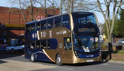 Stagecoach Hants & Surrey 10774 - SN66VYV - Farnborough (Kingsmead)