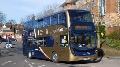 Stagecoach Hants & Surrey 10776 - SN66VYX - Farnborough (Main railway station)