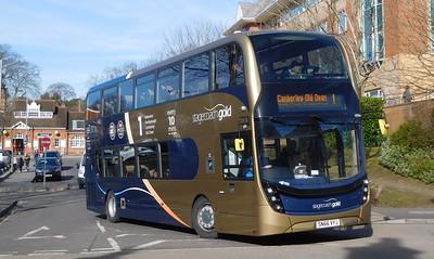 Stagecoach Hants & Surrey 10764 - SN66VYJ - Farnborough (Main railway station)