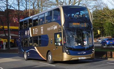 Stagecoach Hants & Surrey 10770 - SN66VYR - Farnborough (Kingsmead)