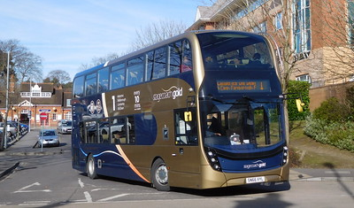 Stagecoach Hants & Surrey 10766 - SN66VYL - Farnborough (Main railway station)