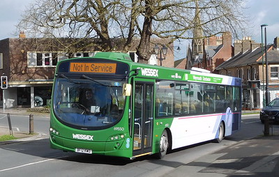 First Wessex 69550 - BF12KWO - Dorchester (Weymouth Avenue)