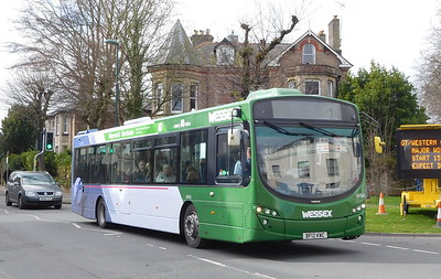 First Wessex 69545 - BF12KWC - Dorchester (Weymouth Avenue)