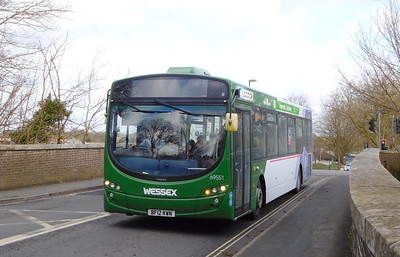 First Wessex 69551 - BF12KWN - Dorchester (Weymouth Avenue)