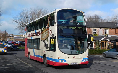 First Wessex 37580 - HX08DHL - Dorchester (Copper St)