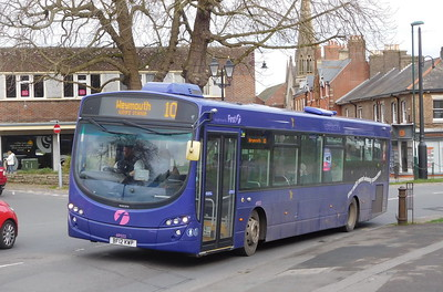 First Wessex 69552 - BF12KWP - Dorchester (Weymouth Avenue)