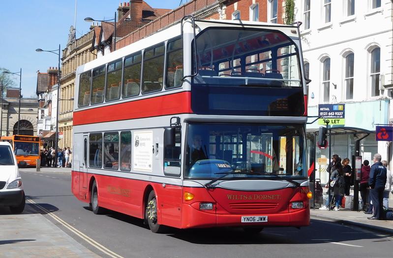 GSC Salisbury Reds 1019 - YN06JWW - Salisbury (Blue Boar Row)