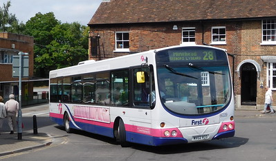 Buses of Somerset 66339 - MV02VCO - Taunton (Castle Way)