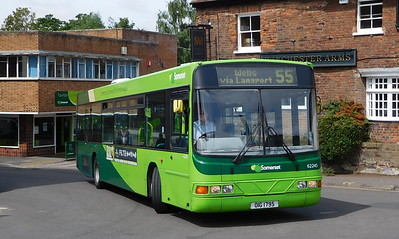 Buses of Somerset 62245 - OIG1795 - Taunton (Castle Way)