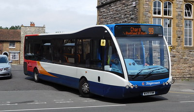 Stagecoach South West 25255 - WA09KWM - Taunton (Castle Way)