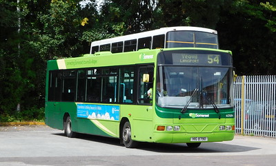Buses of Somerset 40584 - HIG8790 - Taunton (bus station)