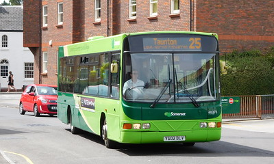 Buses of Somerset 48273 - YG02DLV - Taunton (Castle Way)