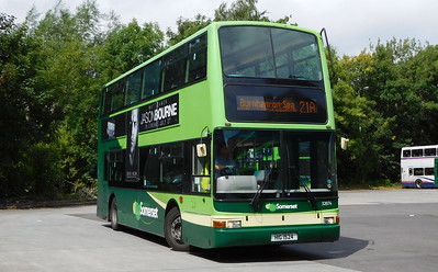 Buses of Somerset 32874 - HIG1524 - Taunton (bus station)