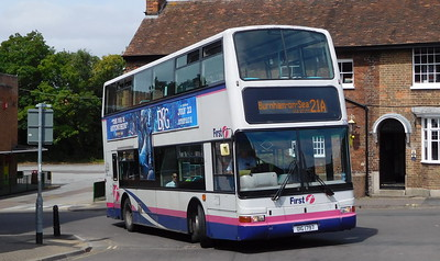 Buses of Somerset 32883 - OIG1797 - Taunton (Castle Way)