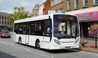 Buses of Somerset 44601 - MX14FUT - Taunton (parade)