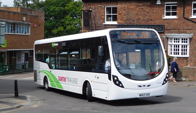 Buses of Somerset 47536 - MK63XAN - Taunton (Castle Way)