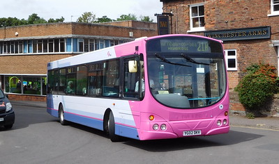 Buses of Somerset 60917 - YG02DKV - Taunton (Castle Way)