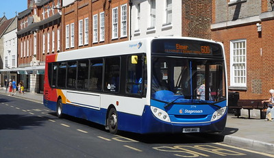 Stagecoach in the South Downs 27741 - GX11AKU - Chichester (West St)