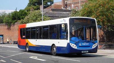 Stagecoach in Portsmouth 27878 - GX13AOZ - Portsmouth (Queen St)