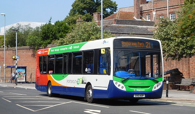 Stagecoach in Portsmouth 27870 - GX13AOP - Portsmouth (Queen St)