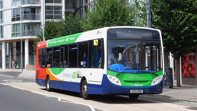 Stagecoach in Portsmouth 27868 - GX13AON - Portsmouth (Queen St)