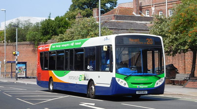 Stagecoach in Portsmouth 27864 - GX13AOJ - Portsmouth (Queen St)