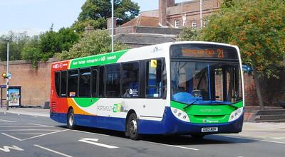 Stagecoach in Portsmouth 27875 - GX13AOV - Portsmouth (Queen St)