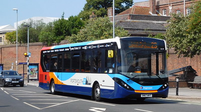 Stagecoach in Portsmouth 26149 - SN67WVT - Portsmouth (Queen St)
