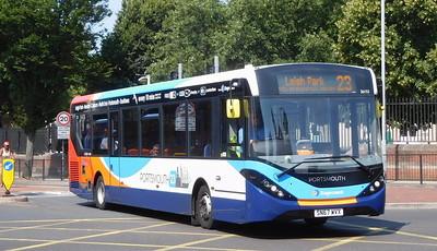 Stagecoach in Portsmouth 26153 - SN67WVX - Portsmouth (Queen St)