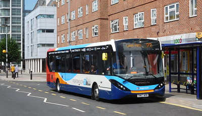 Stagecoach in Portsmouth 26152 - SN67WVW - Portsmouth (Queen St)
