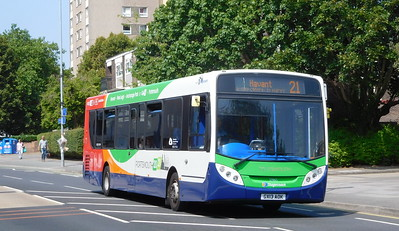 Stagecoach in Portsmouth 27865 - GX13AOK - Portsmouth (Queen St)