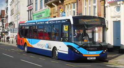 Stagecoach in Portsmouth 26150 - SN67WVU - Portsmouth (The Hard)
