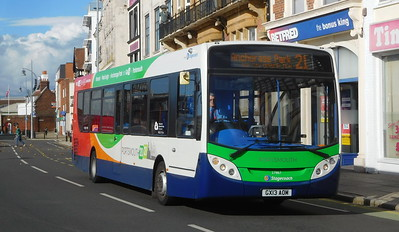 Stagecoach in Portsmouth 27867 - GX13AOM - Portsmouth (The Hard)