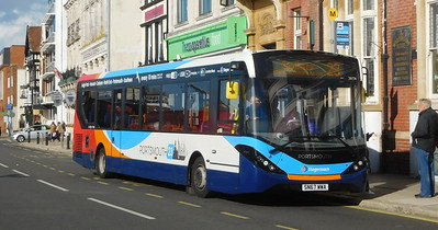 Stagecoach in Portsmouth 26156 - SN67WWA - Portsmouth (The Hard)