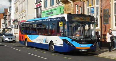 Stagecoach in Portsmouth 26155 - SN67WVZ - Portsmouth (The Hard)