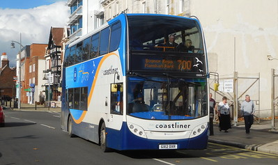 Stagecoach in Portsmouth 10009 - GX12DXR - Portsmouth (The Hard)