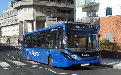 BlueStar 2747 - HF65CXX - Southampton (Central railway station)