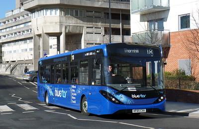 BlueStar 2737 - HF65CXK - Southampton (Central railway station)