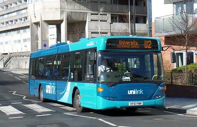 BlueStar 2012 - HF61FWM - Southampton (Central railway station)