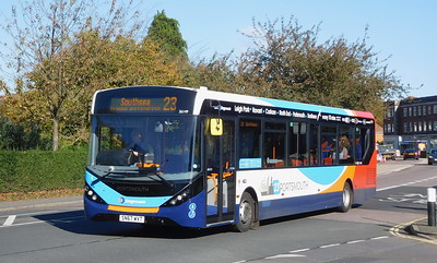 Stagecoach in Portsmouth 26149 - SN67WVT - Cosham (Highbury Buildings)
