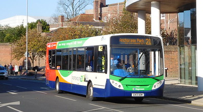 Stagecoach in Portsmouth 26867 - GX13AOM - Portsmouth (Queen St)