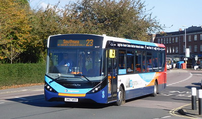 Stagecoach in Portsmouth 26147 - SN67WVR - Cosham (Highbury Buildings)