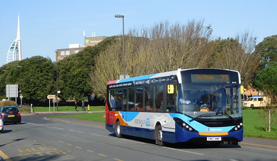 Stagecoach in Portsmouth 26161 - SN67WWF - Southsea (Duisburg Way)