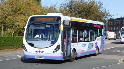 First Solent 47432 - SK63KND - Cosham (Highbury Buildings)