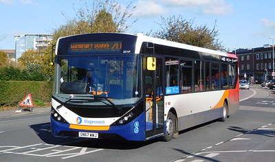 Stagecoach in Portsmouth 26164 - SN67WWJ - Cosham (Highbury Buildings)