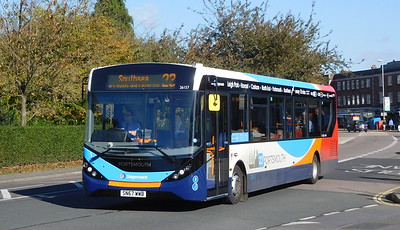Stagecoach in Portsmouth 26157 - SN67WWB - Cosham (Highbury Buildings)